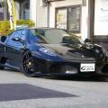 フェラーリ/F430/F1 MSレーシングマフラー ロベルタリフターキット 入庫