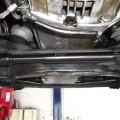 ベンツ R129 500SL ステアリングダンパー交換!車検整備ご依頼