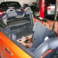 BMW MINI カブリオレ(R52 R57) リアパワーウィンドウ 修理 交換!