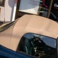 BMW Z3 ベージュの幌に張り替え!