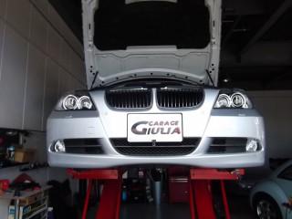 BMW,E46,E90,E87,E60,E65エンジン警告灯,チェックエンジン,ランプ点灯,ガラージュジュリア,神戸,芦屋,西宮,修理,外車