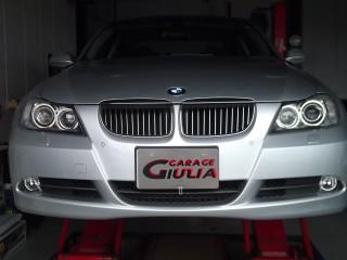 BMW,イカリング,セリスリング,LED化,ガラージュジュリア