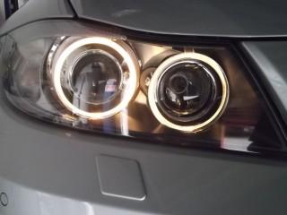 BMW,イカリング,セリスリング,LED化,ガラージュジュリア,神戸,芦屋,西宮,修理,カスタム